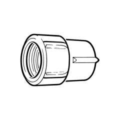 Primofit® Cap - 25mm MDPE Galvanized