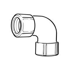 Primofit® Elbow - 25mm MDPE Galvanized