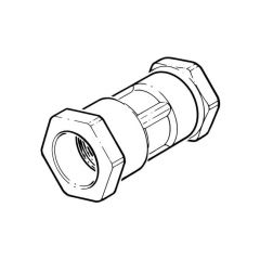 25 mm x 22 mm - Polyguard DZR to Copper Straight Coupling