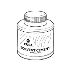 Cura Solvent Cement w/ Brush - PVCu MuPVC & ABS 250ml
