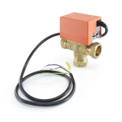 Solar Diverter Valve - 28mm - 3 Port