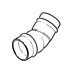 Solder Ring Elbow 45° - 28mm