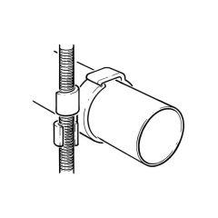 28 mm i.d. Studding Clip - 10 mm Thread
