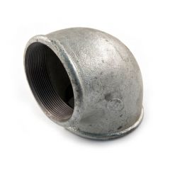 "Iron Elbow 90° - 2"" F Galvanised"
