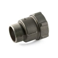 "Primofit® Adaptor Gas 2"" BSP M x 63mm MDPE Black"