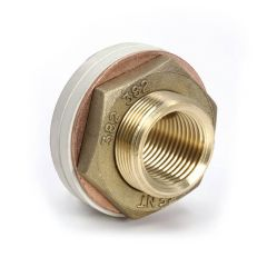 "Essex Cylinder Flange - 3/4"" BS F Outlet Brass"