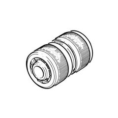 "3/4"" Brass Hose Repair Connector"
