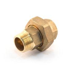 "Brass Threaded Straight Union - 3/4"" BSP TM x PF"