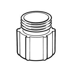"""Gas Meter Adaptor - 3/4"""" BSP TF x 3/4"""" BS 746 M"""
