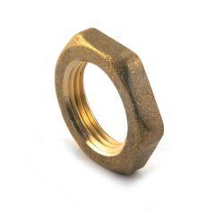 "Brass Threaded Locknut - 3/8"" BSP P to BS 2779"
