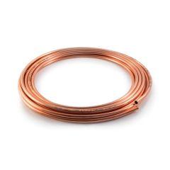 "30 m x 1/4"" (20 gauge : 0.9 mm) Copper Coil - Imperial"