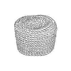 30 m x 6 mm Rope Coil