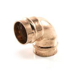 Solder Ring Equal Elbow 90° - 35mm