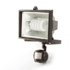 36 W Spiral Energy Saving Floodlight C/W PIR