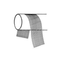 Waterproof Abrasive Cloth Strip - 250mm Pack of 10