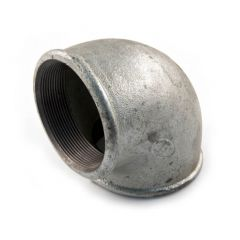 "Iron Elbow 90° - 3"" F Galvanised"