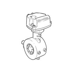 """ITRON MZ400C Quantometer Gas Meter - 3"""" DN80"""