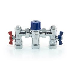 4 in 1 Thermostatic Mixing Valve TMV 2/3 - 22mm