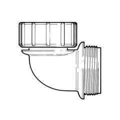 HepvO® 87.1/2° Knuckle Adaptor - 40mm