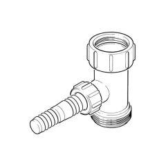 "Washing Machine Trap Adaptor - 1.1/2""/40mm"