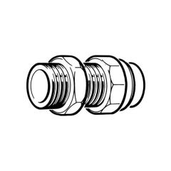 """Solder Ring Tank Connector - 42mm x 1.1/2"""""""
