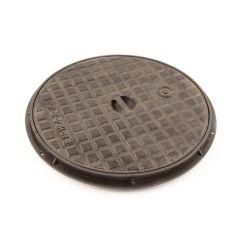 460 mm Circular Cast Iron Cover & Polypropylene Frame (A)