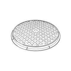 460 mm Circular Polypropylene Cover & Frame (A)