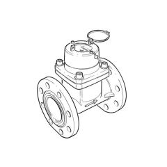 """Irrigation Cold Water Meter - 4"""" DN100"""