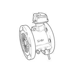 "ITRON MZ650D Quantometer Gas Meter - 4"" DN100"
