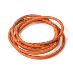 Orange High Pressure Hose - 6.3mm Bore, 3m Coil