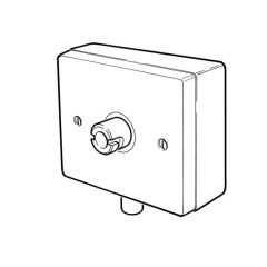 Wall-Mounted Boxed Plug-In Micropoint Socket 6/8mm