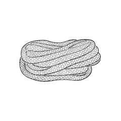 Glass Yarn - 6mm x 10m