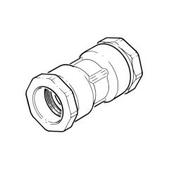 63 mm - Polyguard DZR Straight Coupling - Compression