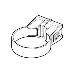 68 mm quick fix clip - Black - Pack of 5
