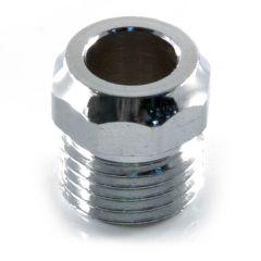 8 mm - Gland Nut - Chrome Plated