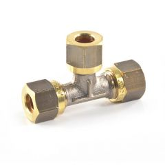 LPG Metric Compression Tee - 8mm