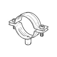 Stainless Steel Tube Clamp - 82 to 90mm