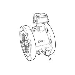 "ITRON MZ1600F Quantometer Gas Meter - 8"" DN200"