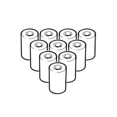 A746 Thermal Paper Roll for TPI Analyser - Pack of 10