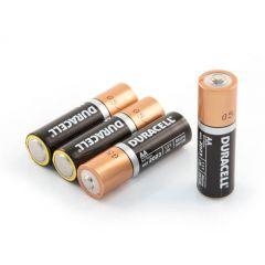 Duracell AA Alkaline Batteries - Pack of 4