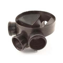 Access Chamber Base 170 mm - With 2 Blanking Plugs