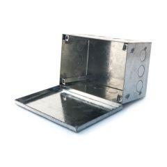"""Adaptable Box - 6"""" x 3"""" x 3"""", Galvanised Steel"""