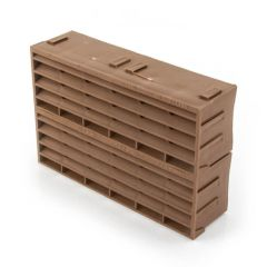 "AIR 9202 - 9"" x 6"" - Brown - Air Brick"