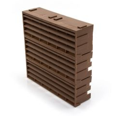 "AIR 9203 - 9"" x 9"" - Brown - Air Brick"
