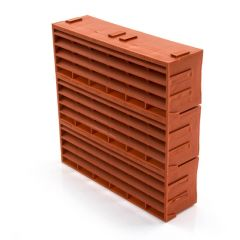 "AIR 9203 - 9"" x 9"" - Terracotta - Air Brick"