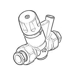"Altecnic Thermostatic Regulator - 3/4"" BSP/22mm Comp."