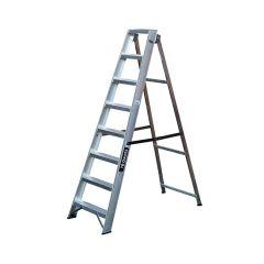 Aluminium Swing-back Step Ladder