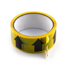 Arrow Tape - 36mm x 33m Black on Yellow
