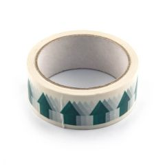 Arrow Tape - 36mm x 33m White on Green