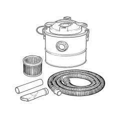 Ash Vacuum Cleaner - 1200W